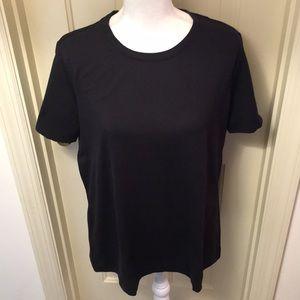 Eddie Bauer Black T-Shirt NWT